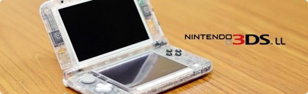 Un Nintendo 3DS XL particolare