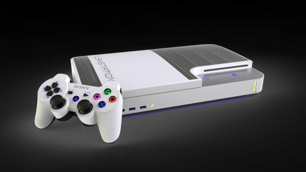 PlayStation 4 bianca e argento