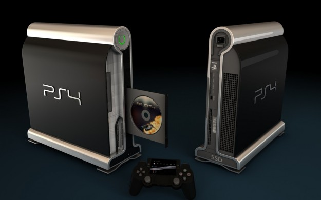 PlayStation 4: concept art