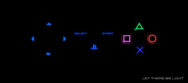 PlayStation 4: le luci del controller