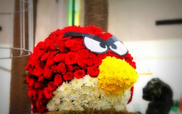 Angry Birds: un pennuto con i fiori