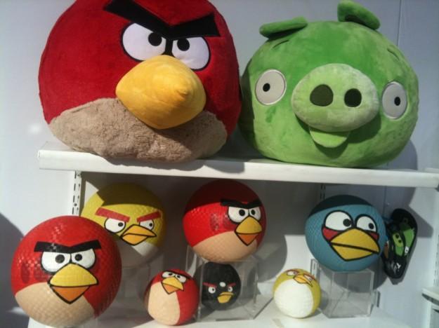 Angry Birds: giocattoli divertenti