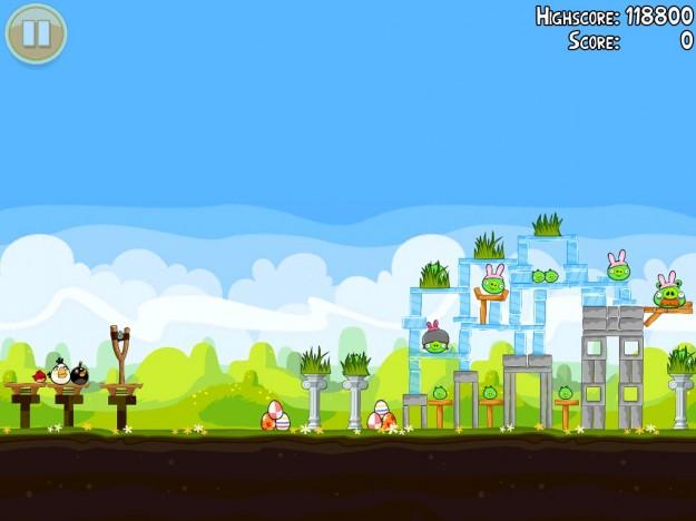 Angry Birds Seasons per Pasqua