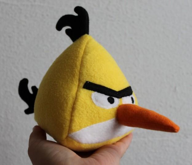 Angry Birds: un peluche giallo