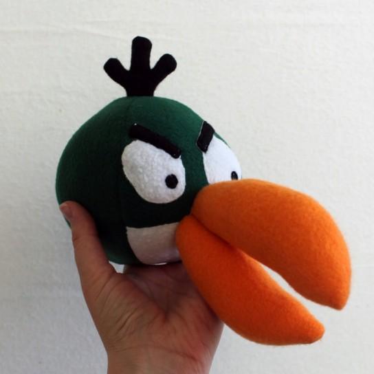 Angry Birds: il peluche del volatile verde