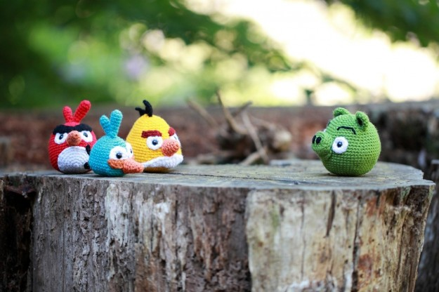 Angry Birds: pupazzetti originali