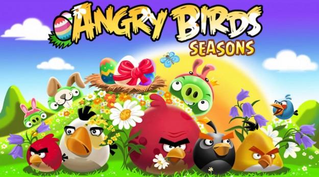 Angry Birds Seasons: logo pasquale