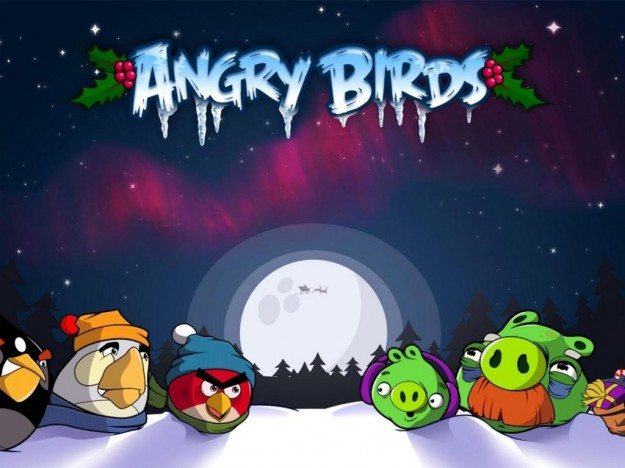 Angry Birds Seasons natalizio