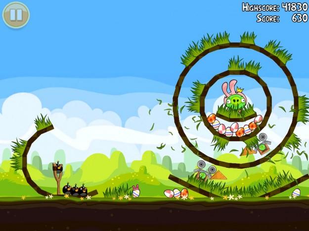 Angry Birds Seasons dedicato alla Pasqua