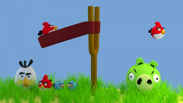 Angry Birds: la sfida tra volatili e maialini