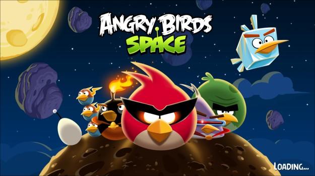Angry Birds Space: il logo
