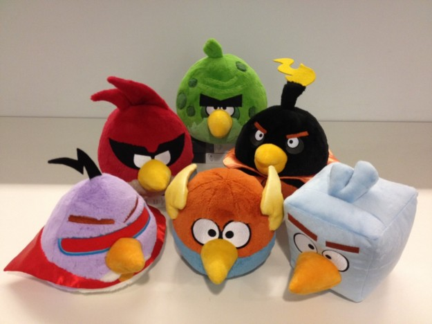 Angry Birds Star Wars: i peluche