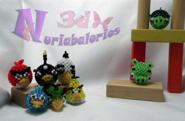 Angry Birds: i personaggi di vetro