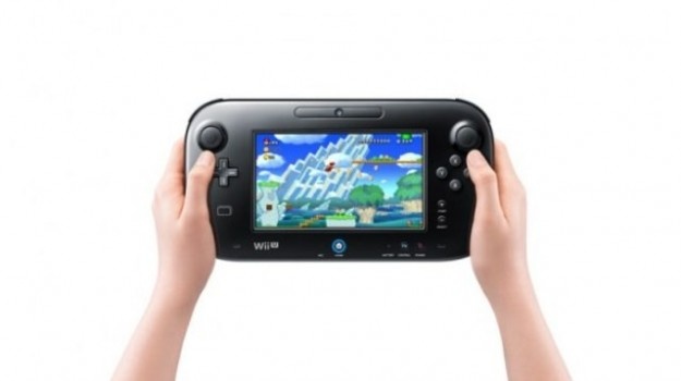 Nintendo Wii U Gamepad nero