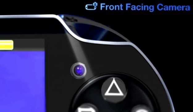Camera frontale di PlayStation Vita