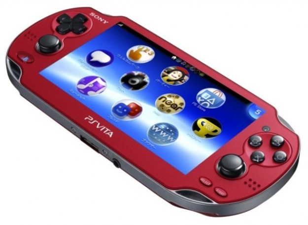 La versione Red Cosmic di PlayStation Vita