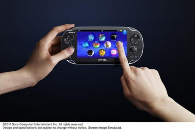 PlayStation Vita è touchscreen