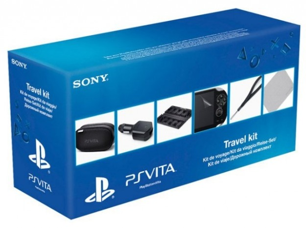 PlayStation Vita in un kit da viaggio