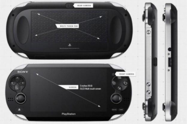 Tutte le angolazioni di PlayStation Vita
