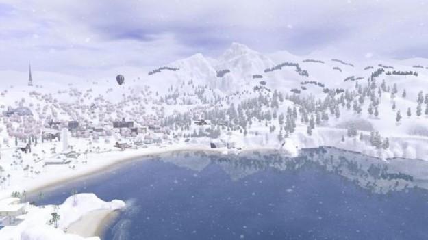 Città d'inverno in The Sims 3 Stagioni