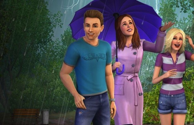 Temporale in The Sims 3 Stagioni
