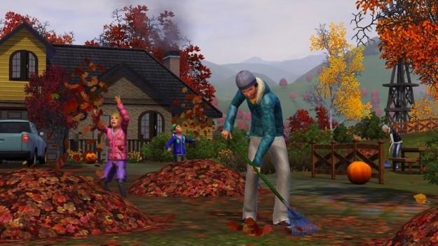 L'autunno in The Sims 3 Stagioni