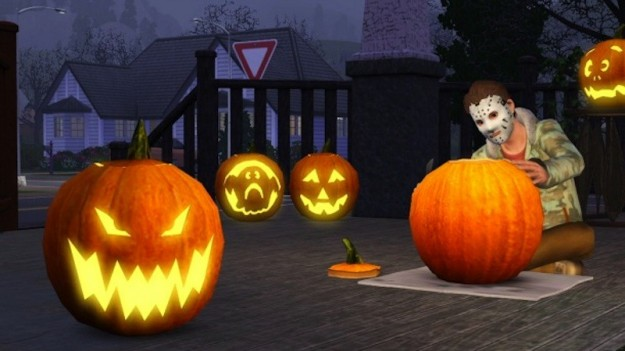 Halloween in The Sims 3 Stagioni