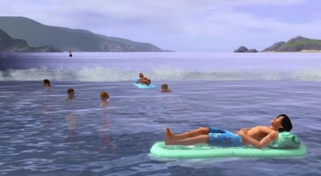 Il mare in The Sims 3 Stagioni