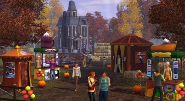 Parco divertimenti in The Sims 3 Stagioni