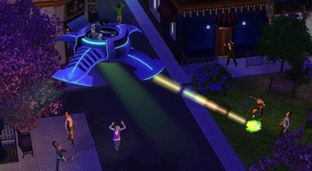 The Sims 3 Stagioni e gli alieni