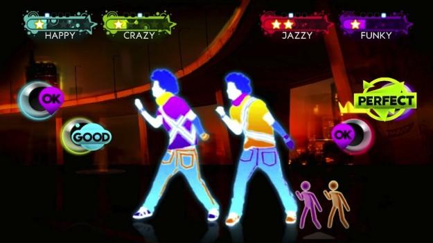 Imitazione dei ballerini sullo schermo