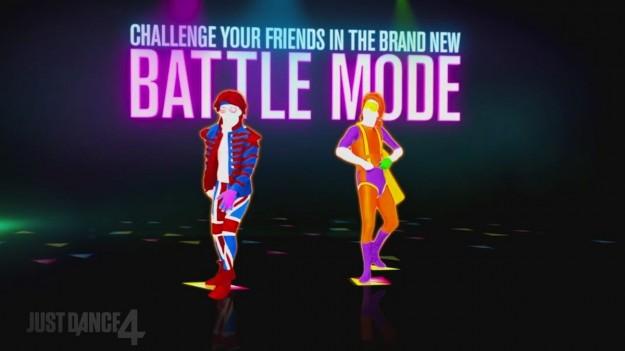 Battle mode in Just Dance 4