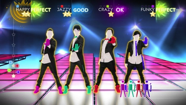 Azione di gioco in Just Dance 4