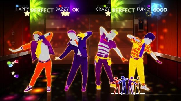 Ballo durante Just Dance 4
