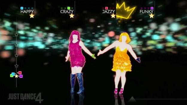 Ballerini di Just Dance 4