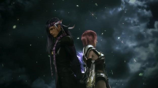 Ambientazione scura in Final Fantasy XIII-2