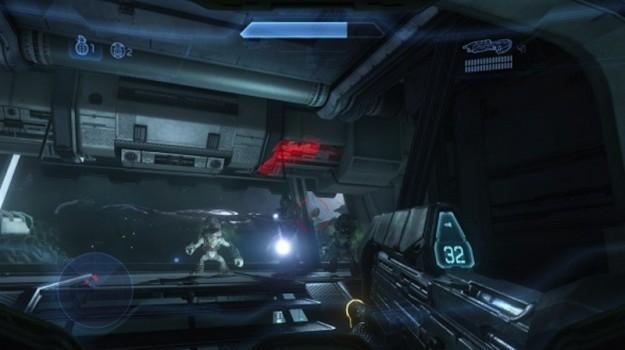 Halo 4 e un'ambientazione oscura