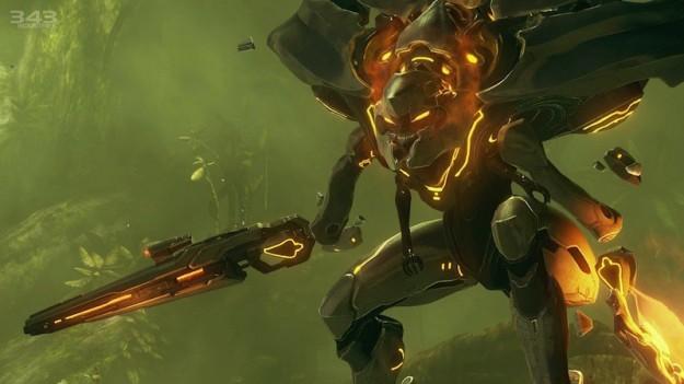 Uno dei mostri di Halo 4