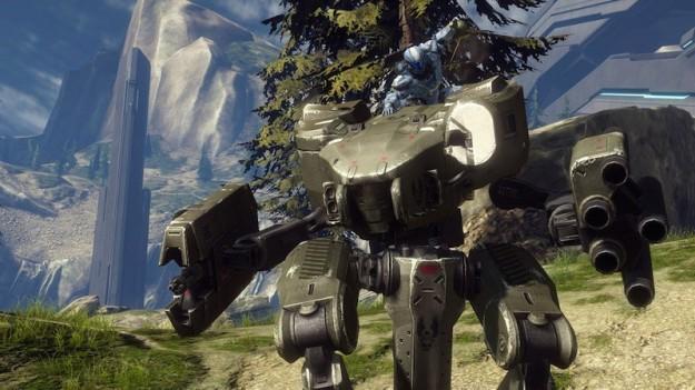 Un'ambientazione naturale in Halo 4