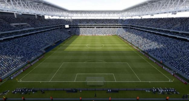 Visuale dello stadio
