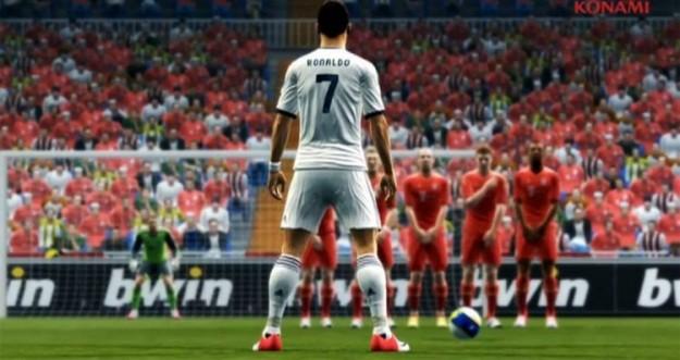Ronaldo durante una partita