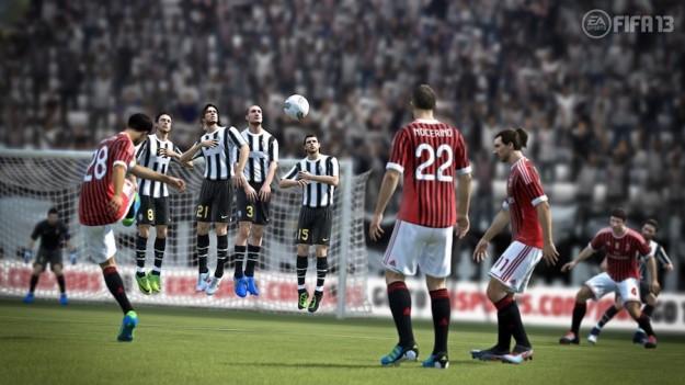 Alcuni calciatori in FIFA 13