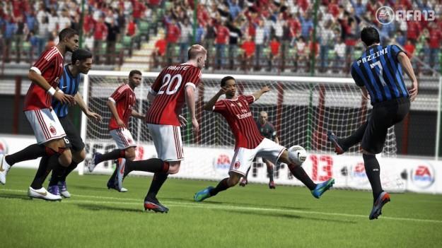 Calciatori in campo in FIFA 13
