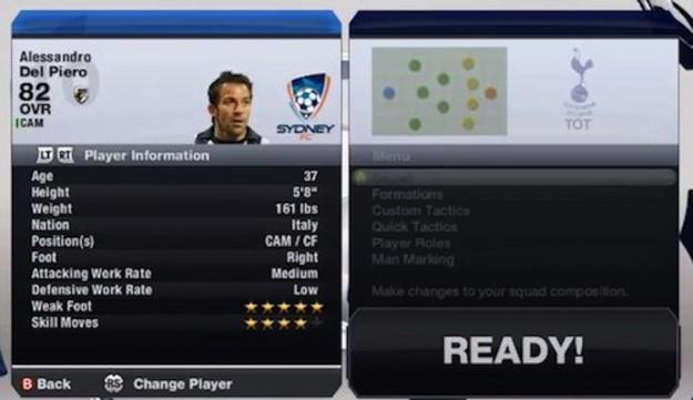 Informazioni sul calciatore
