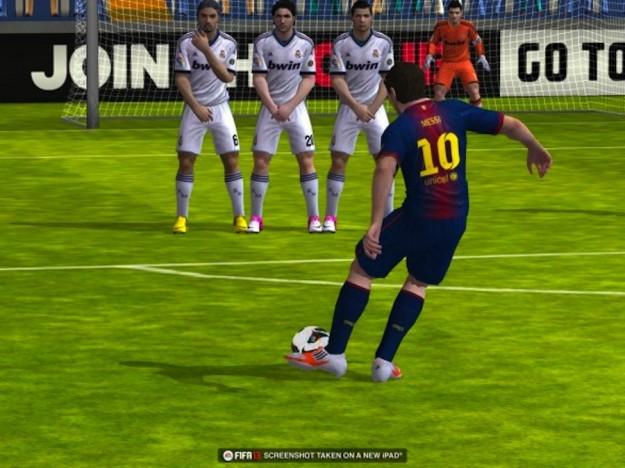 La grafica di FIFA 13 su iPad