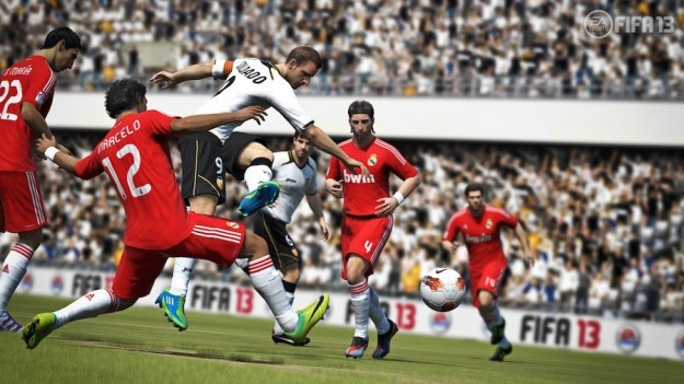 Giocatori nel corso di una partita