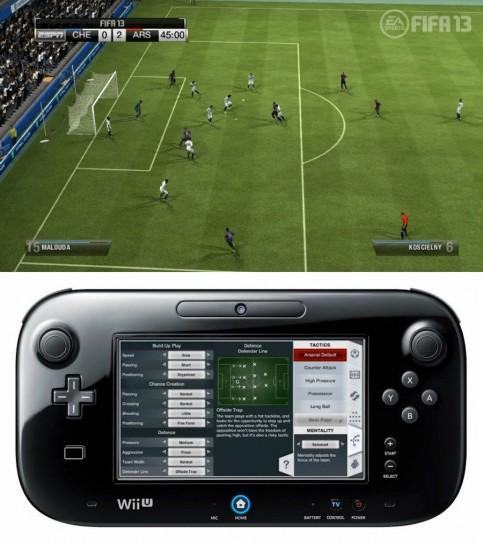 FIFA 13 sulla console Wii U