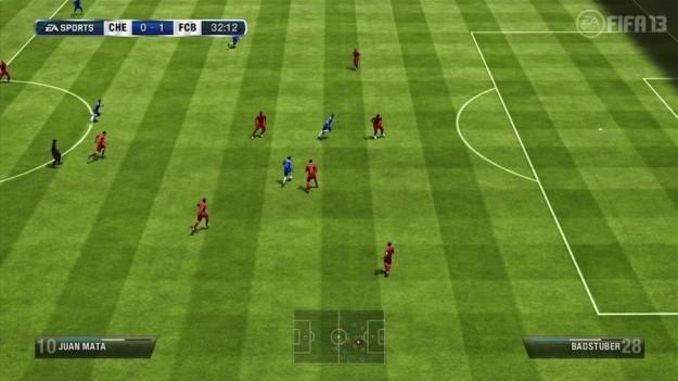 Un campo di gioco presente in FIFA 13
