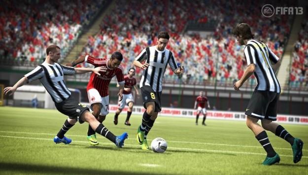 Una partita a FIFA 13
