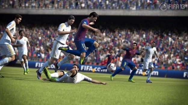 FIFA 13: immagini del gioco di simulazione calcistica